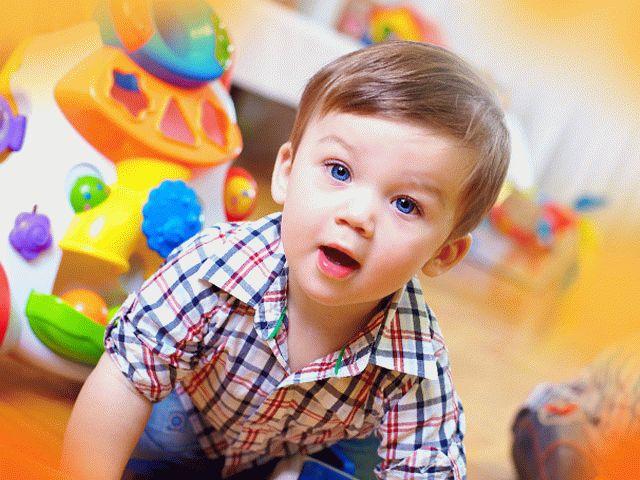 Развитие восприятия у двухлетних детей