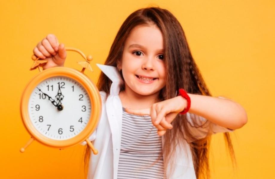 Развитие чувства времени у детей