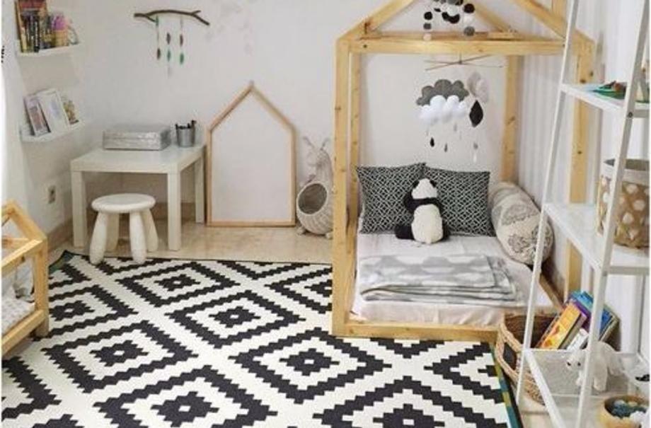 Простые советы по организации детской комнаты в стиле Монтессори