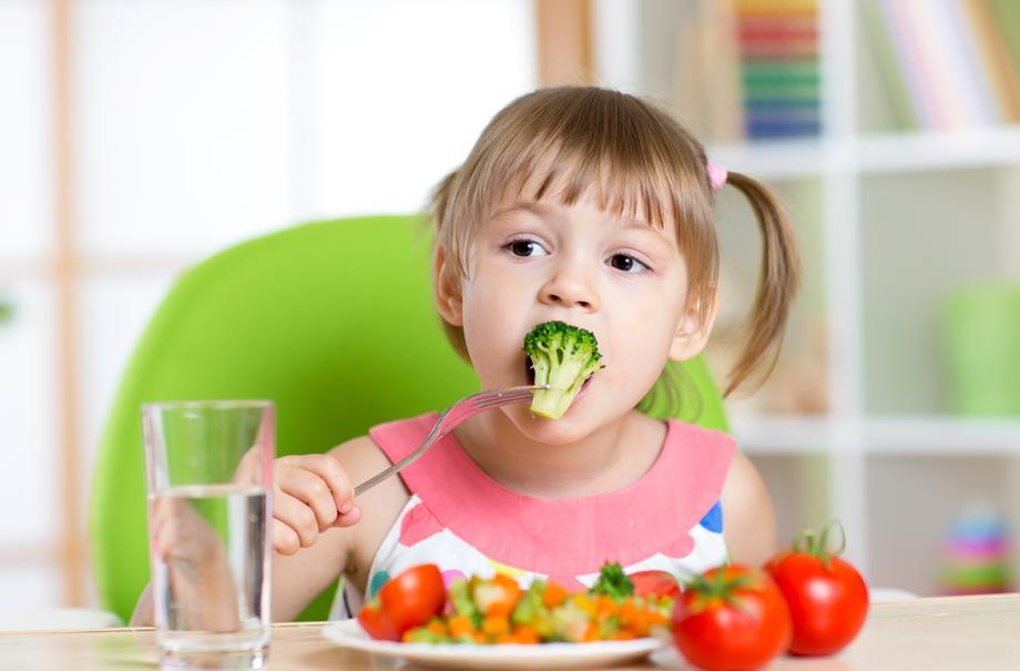 Развитие здоровых пищевых привычек у детей