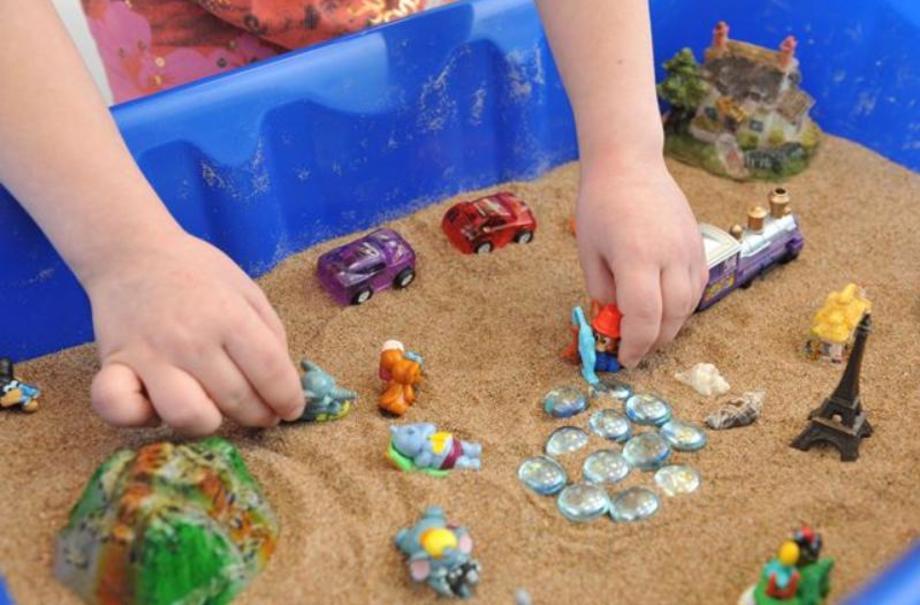Преимущества занятий с песком для дошкольников