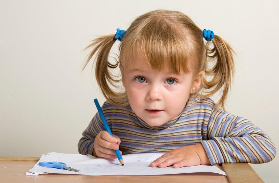Как научить ребенка правильно держать карандаш и ручку