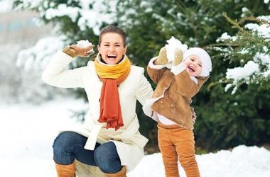 Идеи для зимних прогулок с малышом