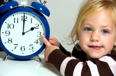 Учимся определять время. Знакомство с часами