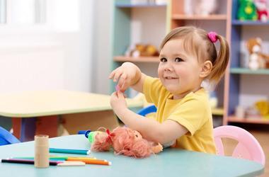 Соберём малыша в детский сад