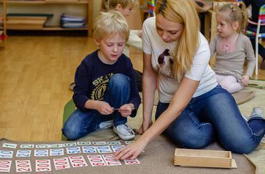 Мини детский сад (подготовка к школе)
