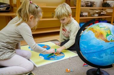 Общеразвивающие занятия (3-6 лет) Классика Монтессори