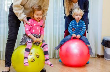 Фитнес для малышей