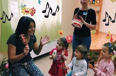 Занятия музыкой для детей 5-6 лет